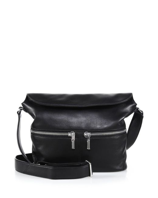 Elizabeth and James | Black James Small Crossbody Hobo Bag | Lyst
