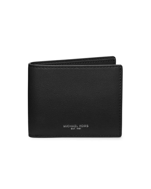 Michael Kors | Black Bryant Slim Billfold for Men | Lyst