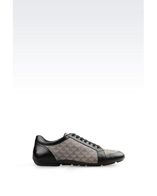 Emporio Armani | Gray Sneakers for Men | Lyst