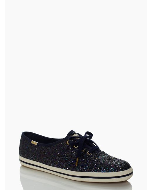 Kate Spade | Black Keds For Glitter Sneakers | Lyst