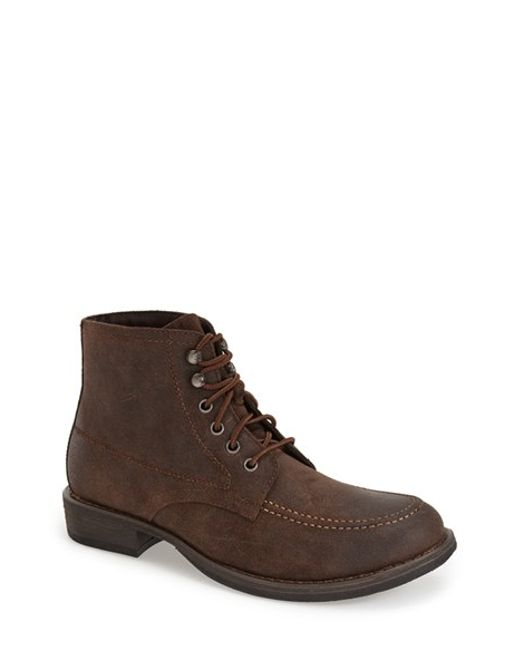 Eastland | Brown 'brice' Apron Toe Boot for Men | Lyst