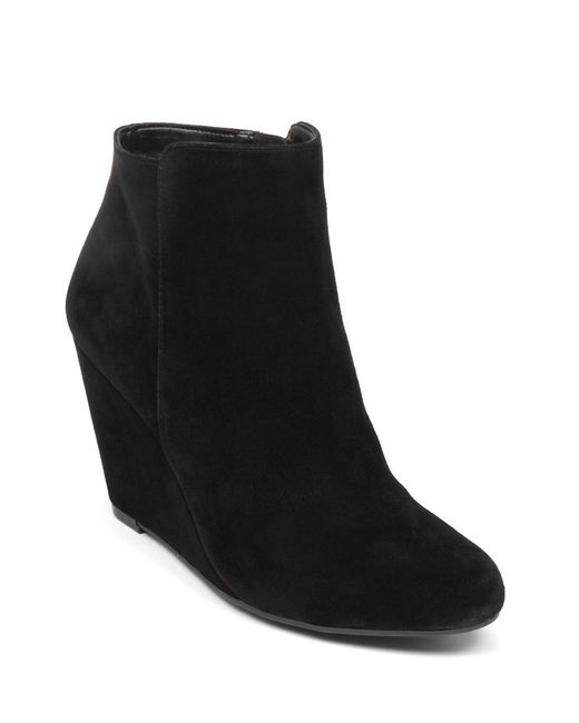 Jessica Simpson | Black Remixx Suede Ankle Boots | Lyst