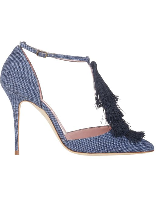 Manolo Blahnik | Blue Hangisi Pumps | Lyst