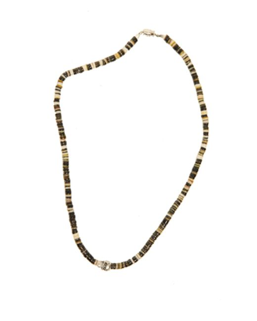 Duchess Of Malfi | Black Lip Shell Necklace With Skull | Lyst