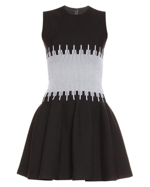 Alaïa | Multicolor Everest White Middle Dress | Lyst