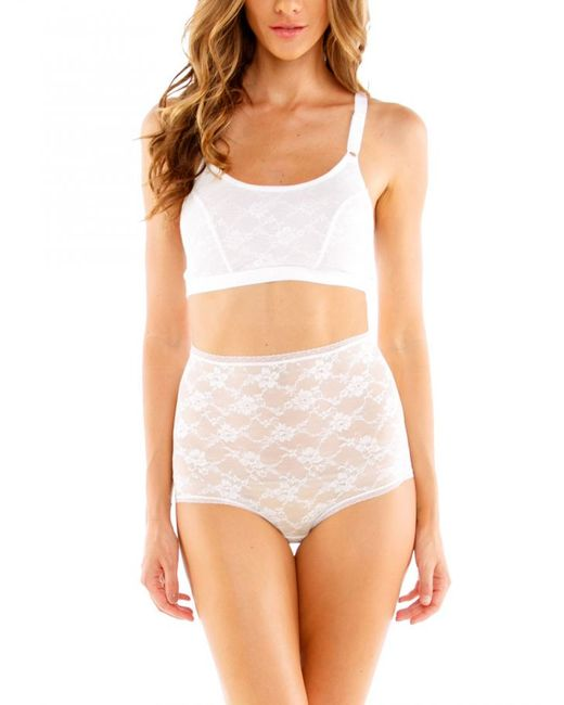 Cosabella   White Glam Shapewear Brief   Lyst