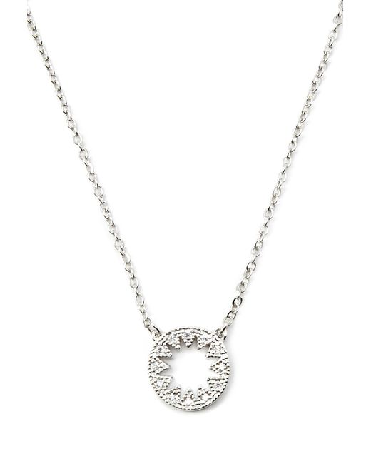 Forever 21 | Metallic Cubic Zirconia Star Cutout Necklace | Lyst