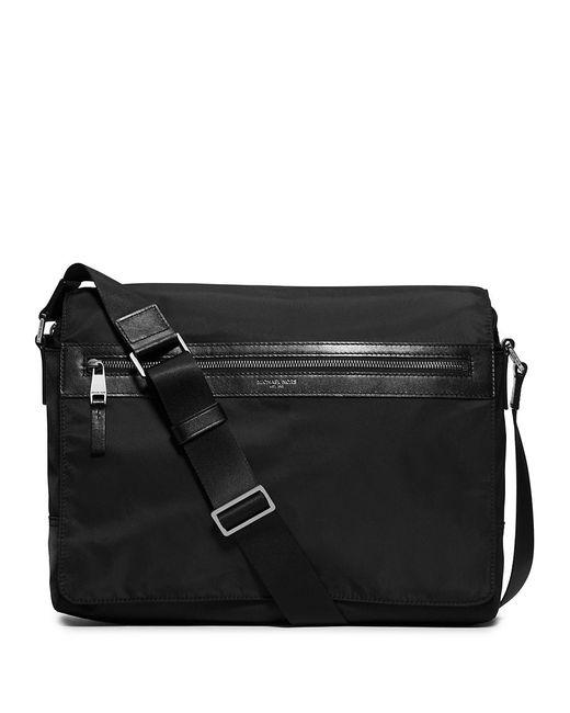 Michael Kors | Black Kent Larger Messenger Bag for Men | Lyst