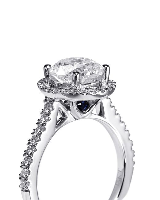 Vera Wang Love Boutique Diamond And White Gold Engagement