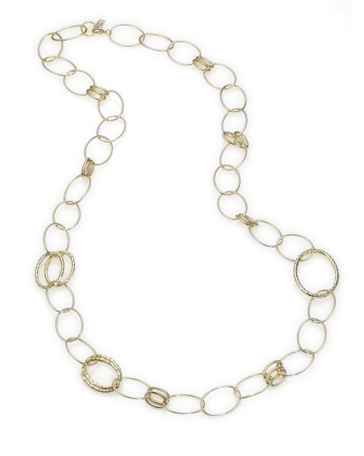 Ippolita | Metallic Glamazon 18k Yellow Gold Bastille Mixed Link Necklace | Lyst