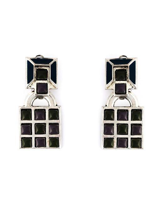 Jean Paul Gaultier | Black Gaudi Clip-on Earrings | Lyst