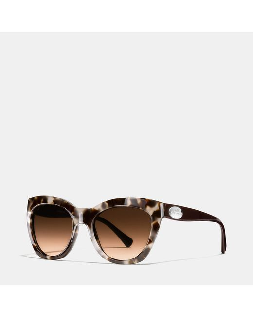 COACH | Multicolor Edie Cat Eye Sunglasses | Lyst