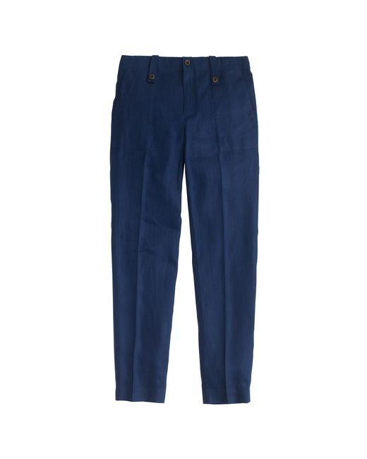 J.Crew | Blue Garden Pant | Lyst