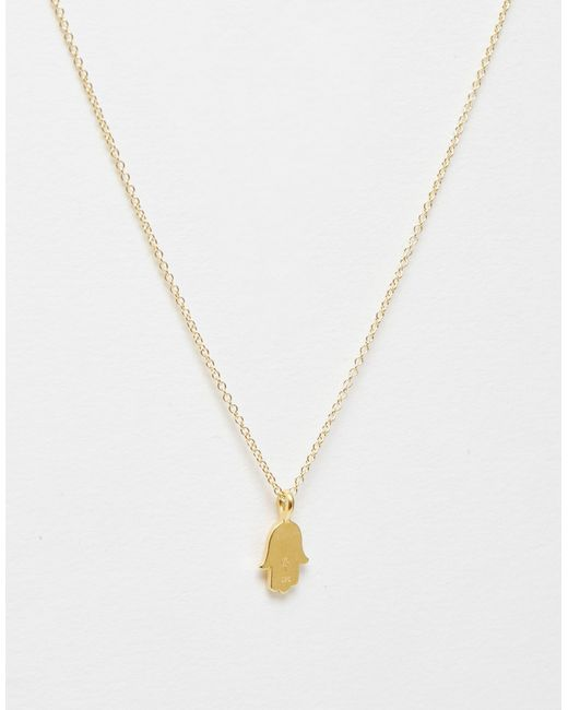 Dogeared | Metallic Love & Protection Charm Necklace | Lyst