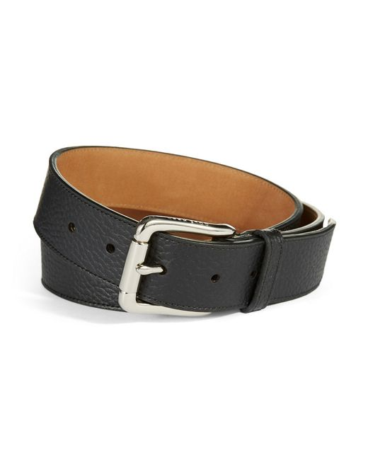 Cole Haan | Black Suede Belt for Men | Lyst