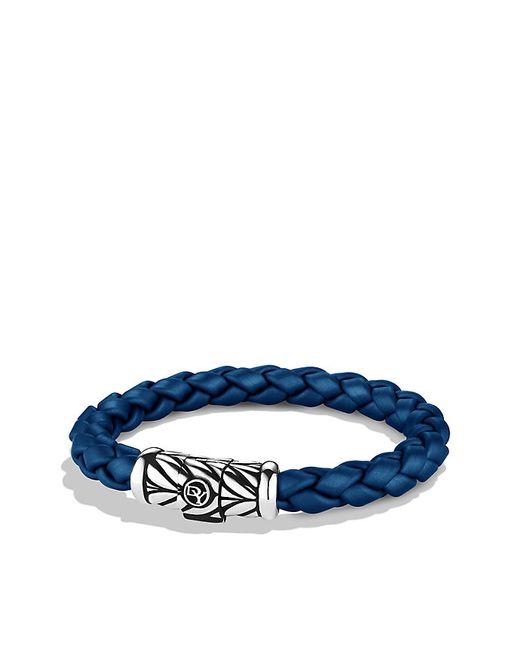 David Yurman | Chevron Bracelet In Blue for Men | Lyst