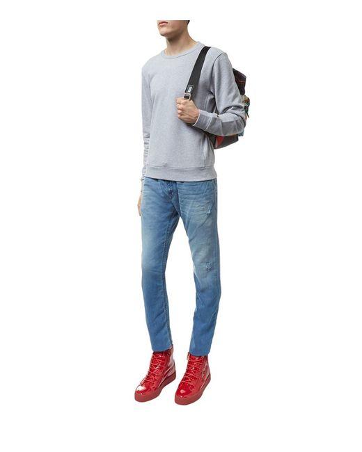 diesel thavar jogg jeans in blue for men lyst. Black Bedroom Furniture Sets. Home Design Ideas
