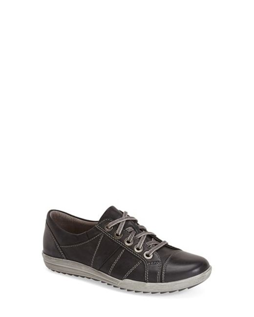 Josef Seibel | Brown 'dany 05' Leather Sneaker | Lyst