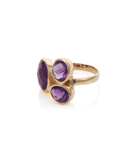 Caroline Creba | Metallic 18ct Gold Plated Sterling Silver 7.95ct Amethyst | Lyst