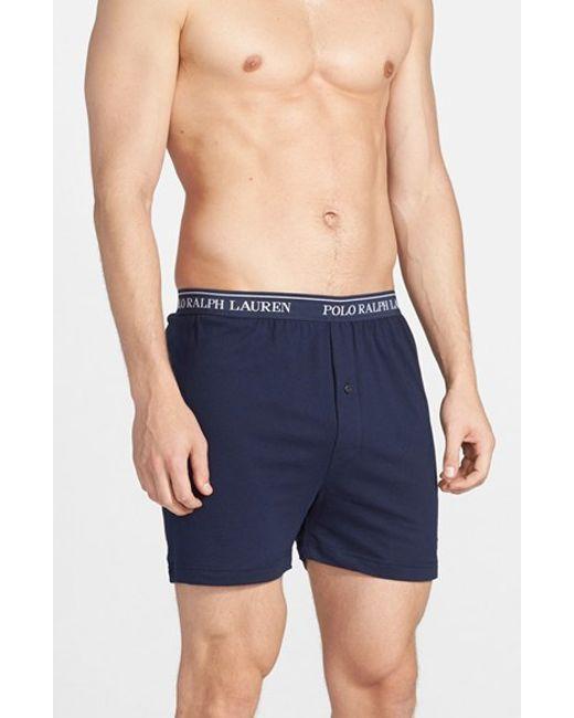 Polo Ralph Lauren | 3-pack Boxers, Blue for Men | Lyst