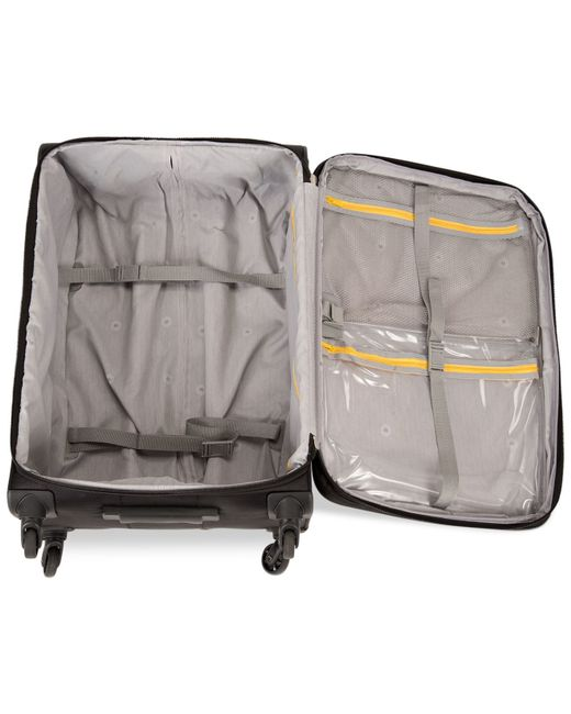 """Delsey   Black Helium Fusion 21"""" Expandable Rolling Suitcase, Only At Macy's for Men   Lyst"""