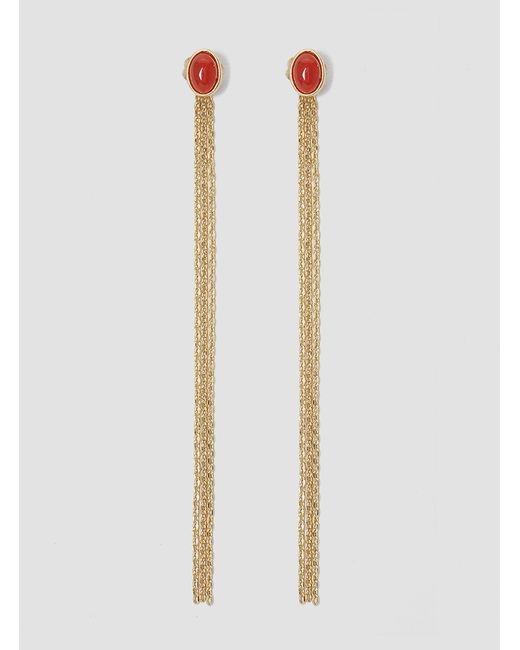 Medecine Douce | Red Milady Earrings Gold | Lyst