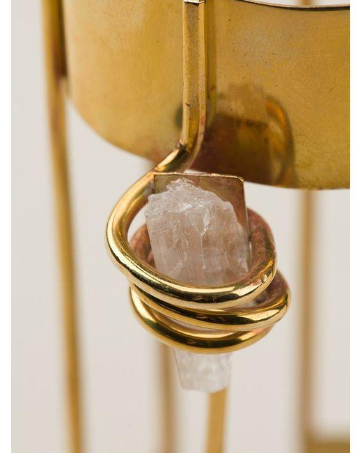 Damir Doma | Metallic Crystal Detail Cuff | Lyst