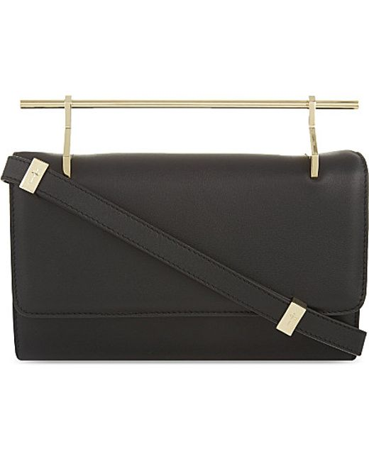 M2malletier | Black Fabricca Long Leather Clutch | Lyst