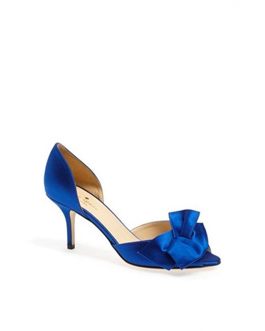 Kate Spade | Blue 'sala' Pump | Lyst