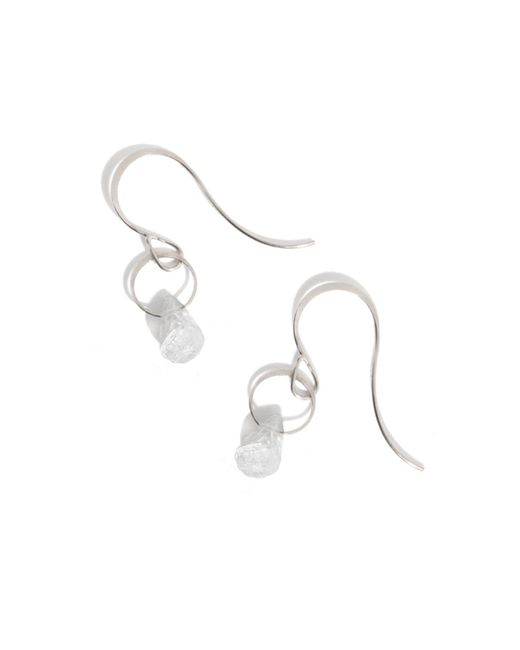 Melissa Joy Manning | Metallic Rainbow Moonstone Drop Earrings | Lyst