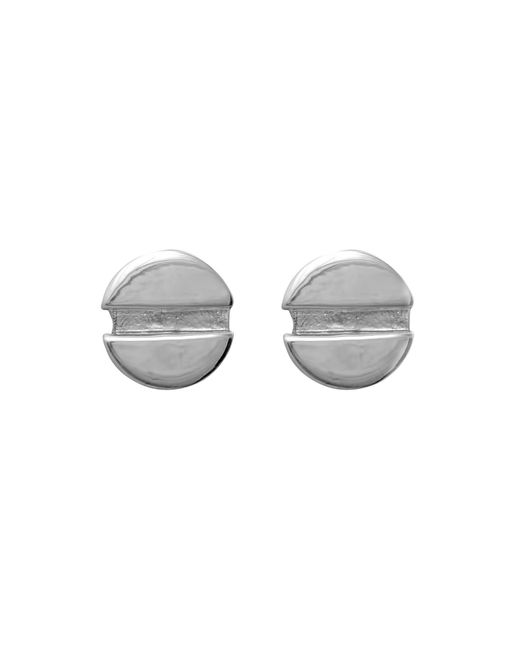Edge Only | Metallic Flat Head Screw Earrings | Lyst