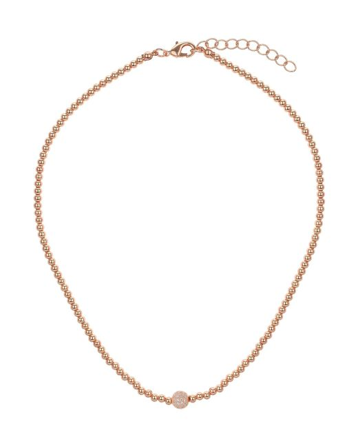 Mikey | Metallic Cubic Crystal Ball Elastic Necklace | Lyst