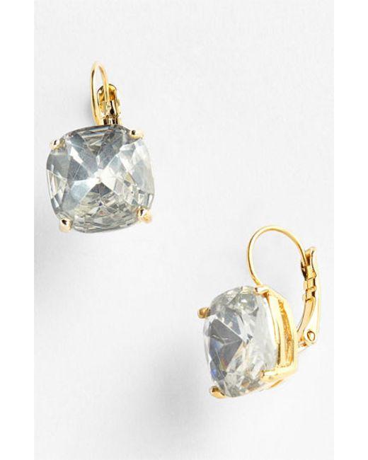 Kate Spade | Metallic Drop Earrings | Lyst