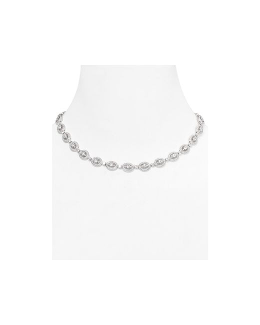 Nadri | Metallic Oval Necklace, 16"