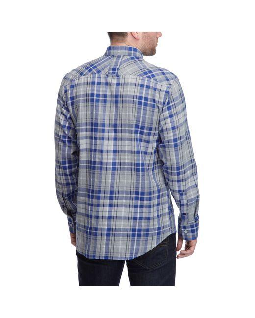 Henri Lloyd | Gray Lavenham Regular Shirt for Men | Lyst