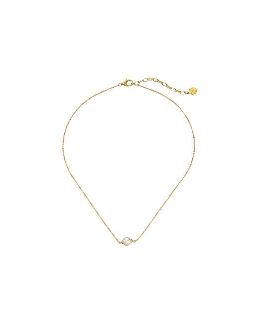 Majorica | Metallic 8mm Round Pendant Necklace | Lyst
