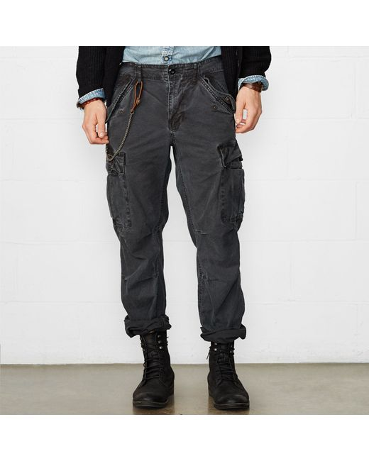 Denim & Supply Ralph Lauren | Black Field Cargo Pant for Men | Lyst
