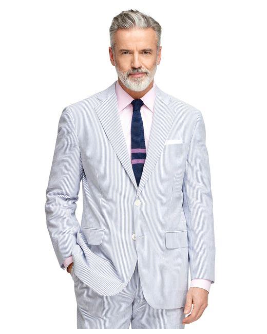 Brooks Brothers | Blue Madison Fit Seersucker Suit for Men | Lyst