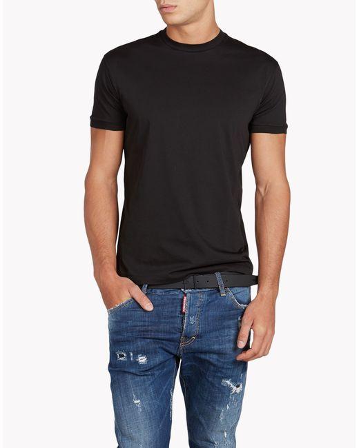 DSquared²   Black Chic Dan Fit T-shirt for Men   Lyst