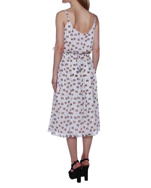 Cutie | White Frill Bust Dress | Lyst