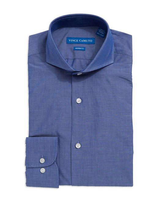 Vince Camuto | Blue Modern Fit Dress Shirt for Men | Lyst