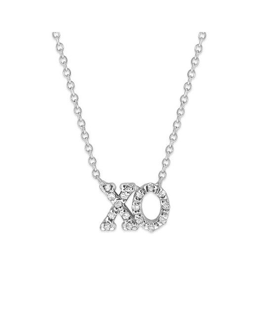 KC Designs | Metallic Brilliant By 14k Gold And Diamond Xo Necklace | Lyst