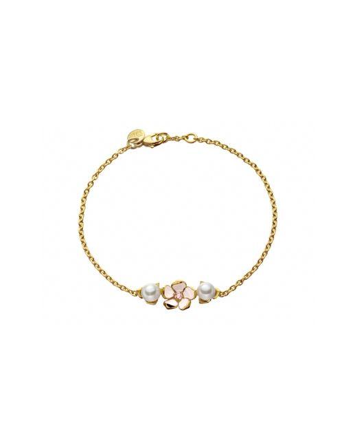 Shaun Leane   Metallic Single Flower Gold Vermeil Bracelet   Lyst
