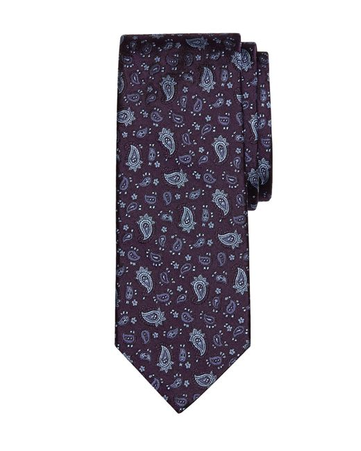 Brooks Brothers | Purple Paisley Tie for Men | Lyst