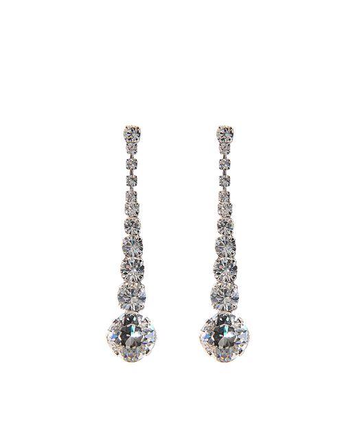Helene Zubeldia   Metallic Crystal Timeless Earrings   Lyst