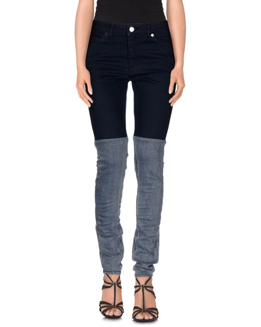 Surface To Air | Blue Denim Trousers | Lyst