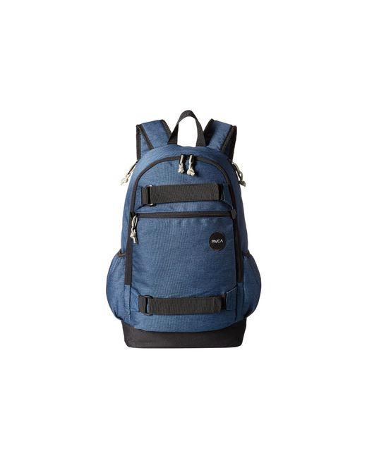 RVCA | Blue Push Skate Backpack for Men | Lyst
