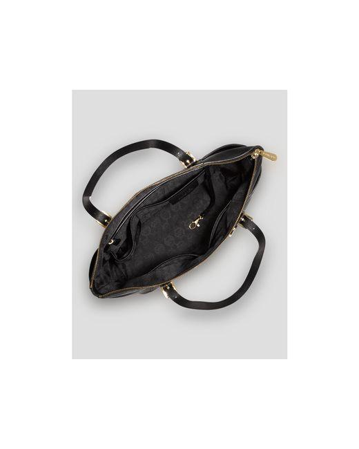 MICHAEL Michael Kors | Black Jet Set East/west Saffiano Leather Tote | Lyst