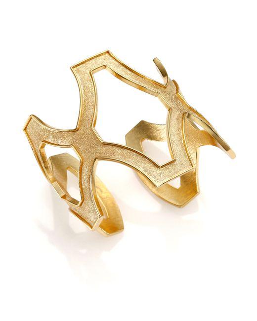 Stephanie Kantis | Metallic Heritage Cuff Bracelet | Lyst