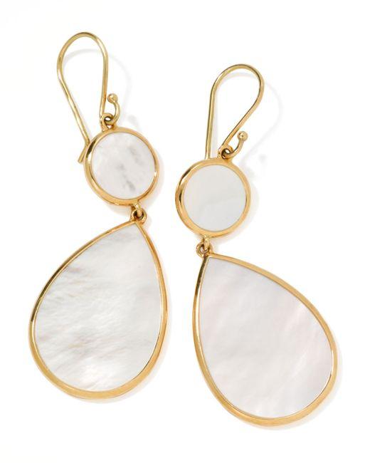 Ippolita   White Rock Candy Snowman Earrings   Lyst
